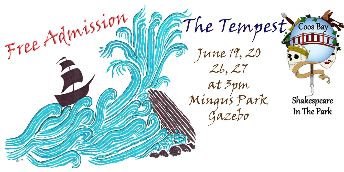 The Tempest, by Coos Bay Shakespeare in the Park